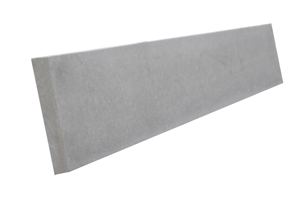 Concrete Plain Gravel Board 1 foot height and 6 foot width.